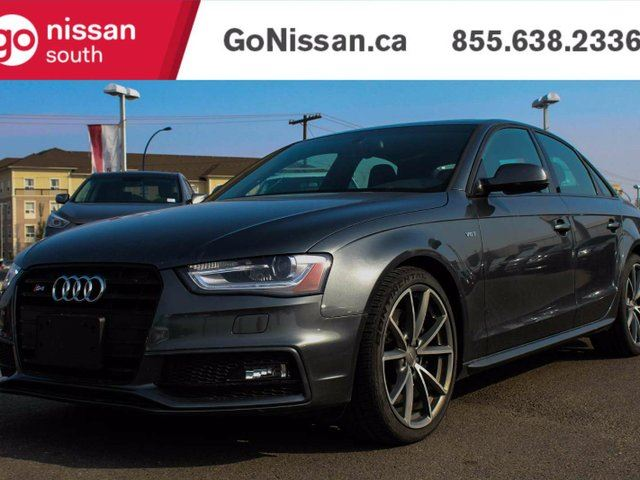 2015 AUDI S4 NAVIGATION, LEATHER, SUNROOF! in Edmonton, Alberta