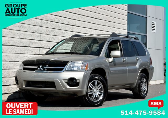 2008 Mitsubishi Endeavor *LIMITED*CUIR*TOIT*NAVIGATION*4X4*TRES PROPRE*R in Longueuil, Quebec