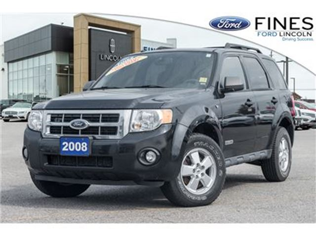 2008 FORD Escape XLT 3.0L - YOU CERTIFY & YOU SAVE! in Bolton, Ontario