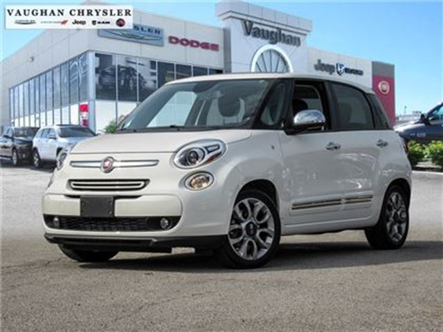 2015 FIAT 500L Lounge*Leather*Panoramic Roof*Navigation in Woodbridge, Ontario