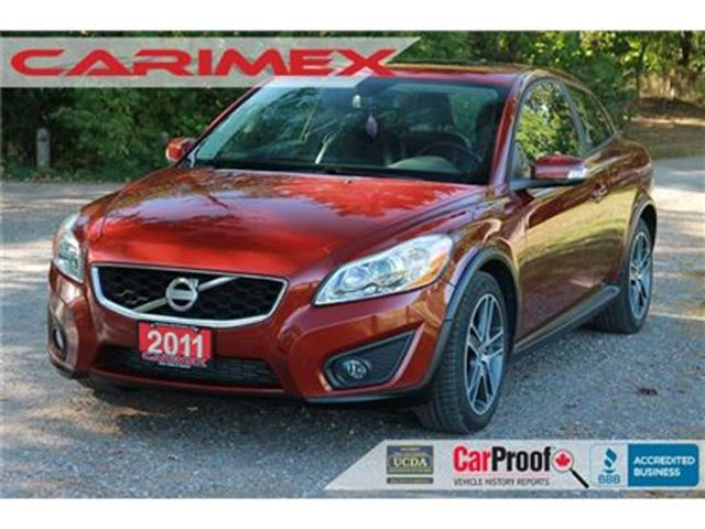 2011 VOLVO C30 T5 Level 2 Leather   Sunroof   CERTIFIED in Kitchener, Ontario