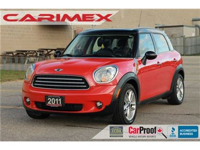 2011 MINI COOPER Countryman Bluetooth   Leather   Sunroof   Heated Seats in Kitchener, Ontario