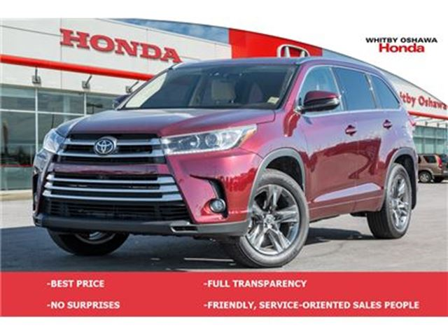 2017 TOYOTA Highlander Limited   Automatic in Whitby, Ontario