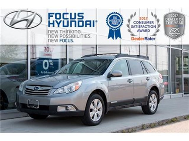 2011 SUBARU OUTBACK 2.5 I Convenience at in Winnipeg, Manitoba