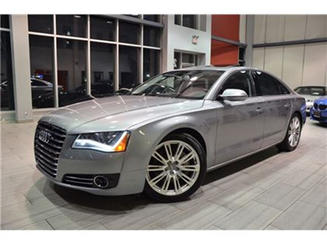 2013 AUDI A8 3.0T Quattro 1 Owner With Only 71.035 Kms! in Oakville, Ontario