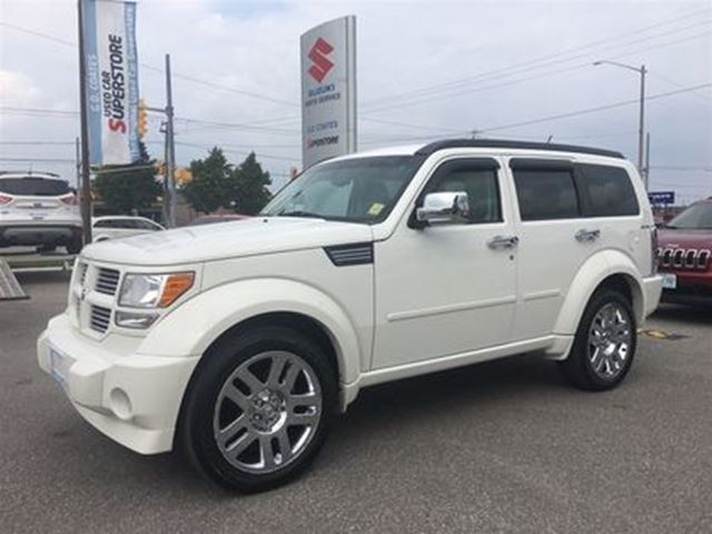 2010 DODGE NITRO SXT 4X4 ~Power Heated Leather ~Chome 20 Wheels in Barrie, Ontario