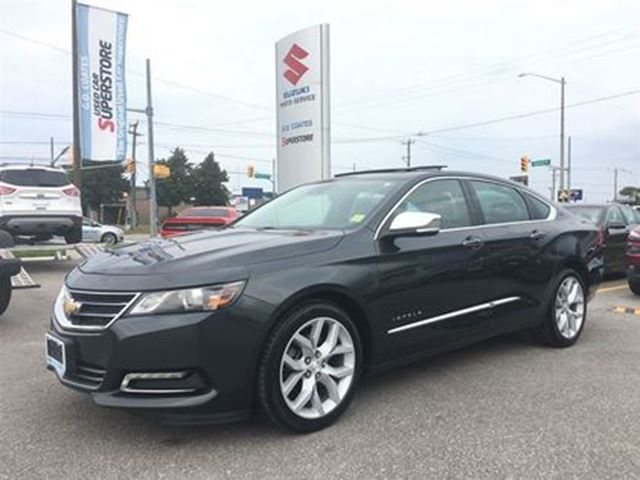 2014 Chevrolet Impala LTZ ~Panoramic Roof ~RearView Camera in Barrie, Ontario