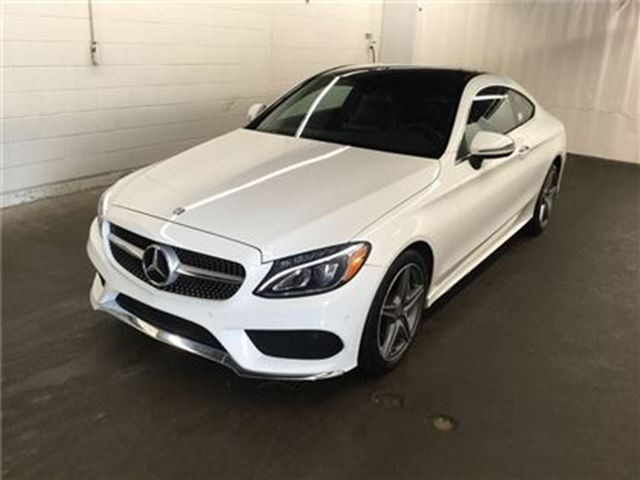 2017 MERCEDES-BENZ C-CLASS C300 4MATIC Coupe ONLY 11 K. in Ottawa, Ontario