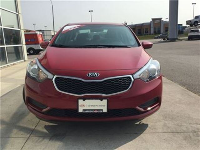 2016 kia forte lx kia certified pre owned cambridge. Black Bedroom Furniture Sets. Home Design Ideas