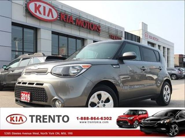 2016 KIA SOUL LX in North York, Ontario