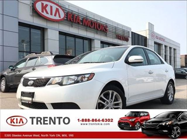 2012 KIA FORTE EX w/Sunroof in North York, Ontario