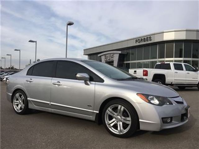 2011 ACURA CSX NAVIGATION, SUNROOF, LEATHER, ALLOYS in Waterloo, Ontario
