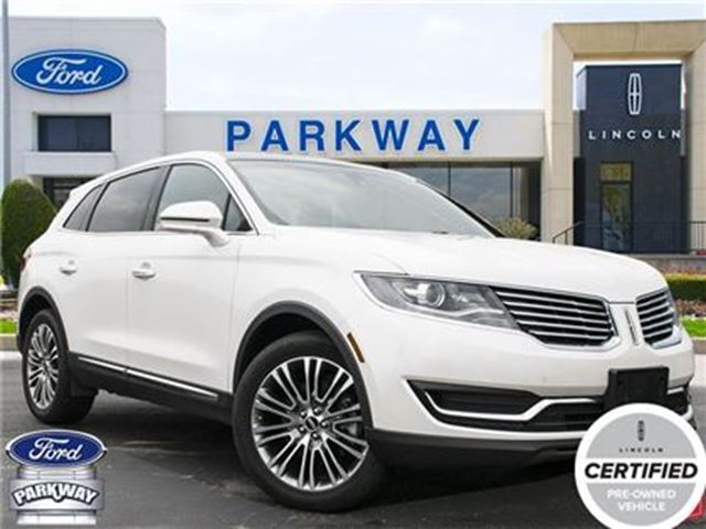 2016 LINCOLN MKX AWD  1-OWNER  ACCIDENT FREE  $328 BIWEEKLY in Waterloo, Ontario
