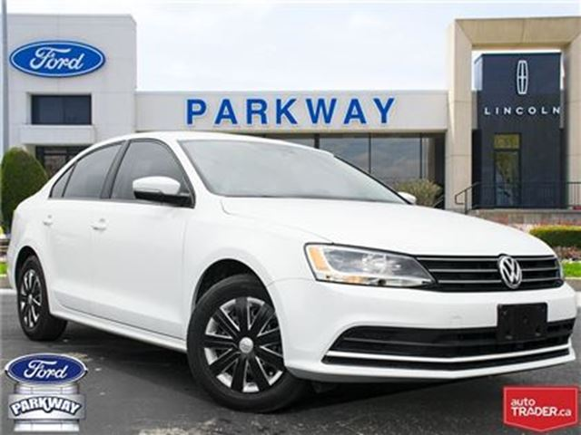 2015 VOLKSWAGEN JETTA Trendline+  NO ACCIDENTS  1-OWNER  $140 BIWEEKLY in Waterloo, Ontario