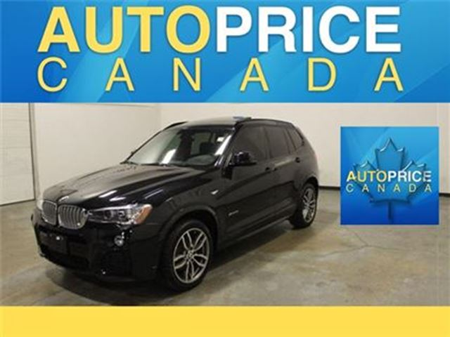 2016 BMW X3 X-Drive35 M-SPORT NAVI PANOROOFi in Mississauga, Ontario