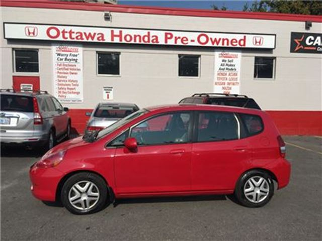 2008 HONDA FIT DX in Ottawa, Ontario