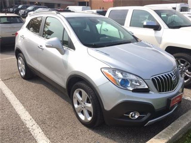 2015 BUICK ENCORE Leather. All Wheel Drive. Remote Start. in Woodbridge, Ontario