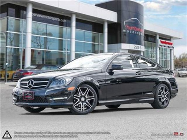 2014 MERCEDES-BENZ C-Class C350 4MATIC in Mississauga, Ontario