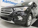 2017 Ford Escape Titanium 4WD ecoboost, NAV, twin panel moonroof, heated seats and power liftgate in Edmonton, Alberta