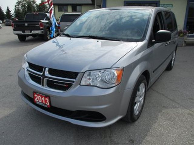 2013 DODGE GRAND CARAVAN 'GREAT VALUE' FAMILY MOVING SE EDITION 7 PASSEN in Bradford, Ontario