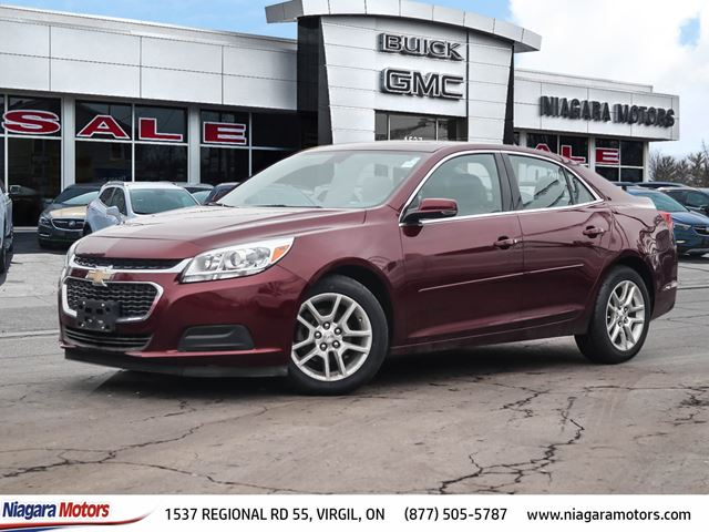 2015 Chevrolet Malibu 1LT *WITH a SUNROOF!!* in Virgil, Ontario