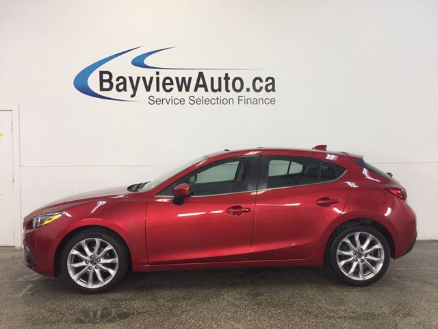 2014 MAZDA MAZDA3 - SUNROOF! HTD SEATS! NAV! BLUETOOTH! REV CAM! in Belleville, Ontario