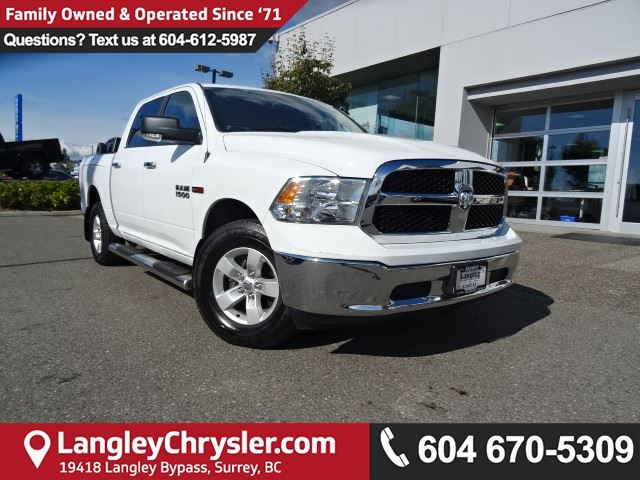 2014 DODGE RAM 1500 SLT *ACCIDENT FREE*ONE OWNER*LOCAL BC TRUCK* in Surrey, British Columbia