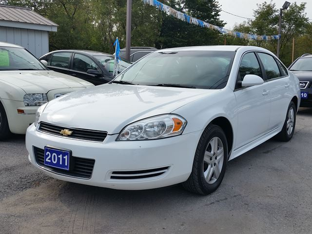 2011 CHEVROLET IMPALA LS..certified..low kms!!! in Oshawa, Ontario