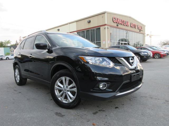 2016 NISSAN ROGUE SV AWD, ROOF, BT, ALLOYS, 51K! in Stittsville, Ontario
