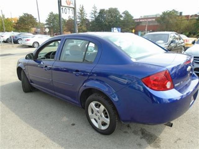 2007 CHEVROLET COBALT AUTO 4dr Sdn LOW KM A/C SAFETY ETEST in Oakville, Ontario