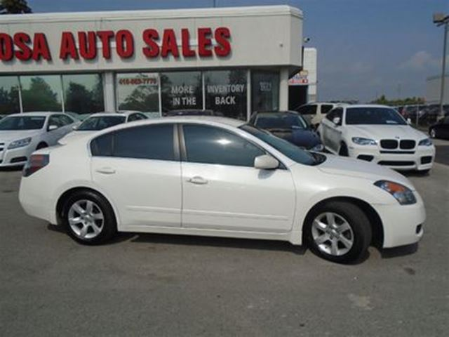 2008 NISSAN ALTIMA AUTO 4 DR  NO ACCIDENTS AUX HEATED SEATS TENTED AL in Oakville, Ontario