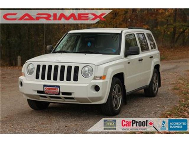 2008 JEEP PATRIOT Sport/North 4x4   CERTIFIED in Kitchener, Ontario