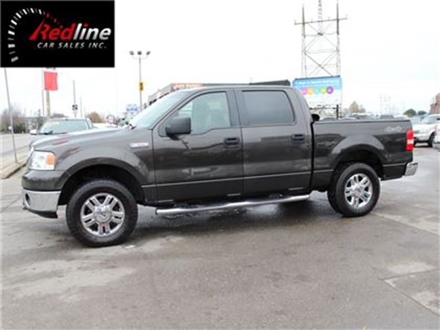 2007 FORD F-150 XLT 4X4 SuperCrew  AccidentFree-XTR Chrome Pkg in Hamilton, Ontario