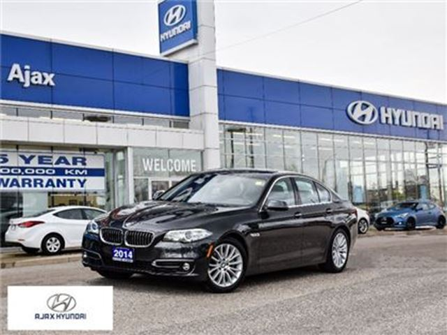 2014 BMW 5 SERIES xDrive Leather Sunroof Navigation in Ajax, Ontario
