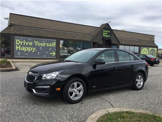2015 CHEVROLET CRUZE 1LT / SUNROOF / UPGRADED SOUND SYSTEM in Fonthill, Ontario