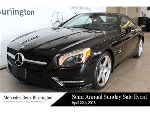 2013 MERCEDES-BENZ SL550 Roadster in Burlington, Ontario