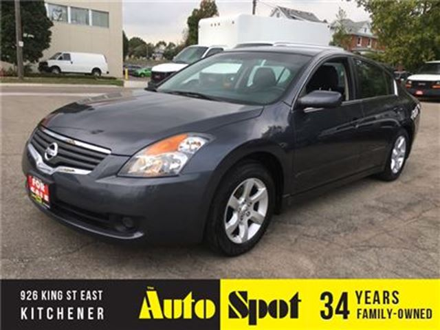 2008 NISSAN ALTIMA 2.5 S/LOW, LOW KMS/PRICED FOR A QUICK SALE! in Kitchener, Ontario