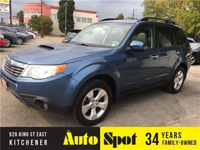 2009 SUBARU FORESTER XT Limited/250 HP/PRICED FOR A QUICK SALE! in Kitchener, Ontario