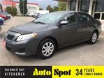 2010 Toyota Corolla CE/PRICED FOR A QUICK SALE ! in Kitchener, Ontario