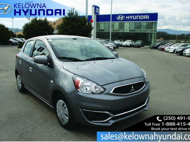2017 MITSUBISHI MIRAGE ES 4dr Hatchback in Kelowna, British Columbia
