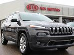 2014 Jeep Cherokee LIMITED, HEATED / COOLED SEATS, HEATED WHEEL, PANORAMIC SUNROOF, NAVI, BACKUP CAM, POWER TAILGATE in Edmonton, Alberta