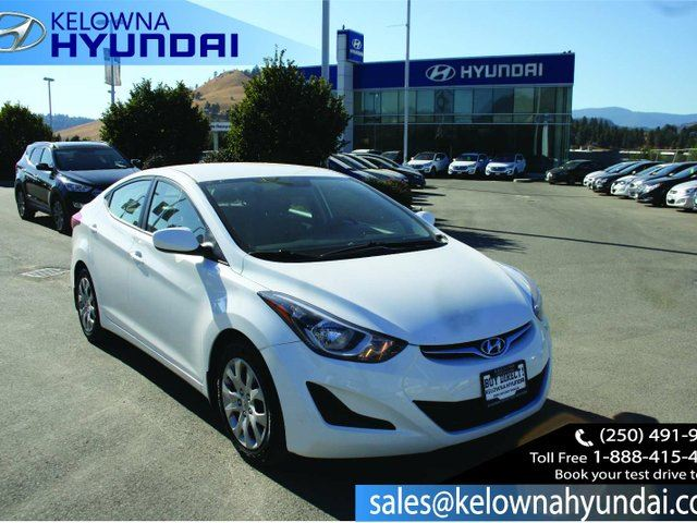 2014 HYUNDAI ELANTRA GL 4dr Sedan in Kelowna, British Columbia