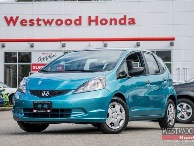 2013 HONDA FIT DX-A (M5) in Port Moody, British Columbia