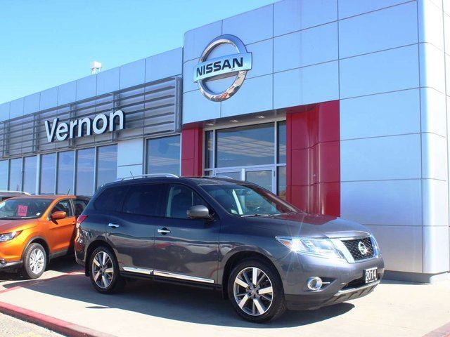 2014 NISSAN PATHFINDER Platinum in Kelowna, British Columbia