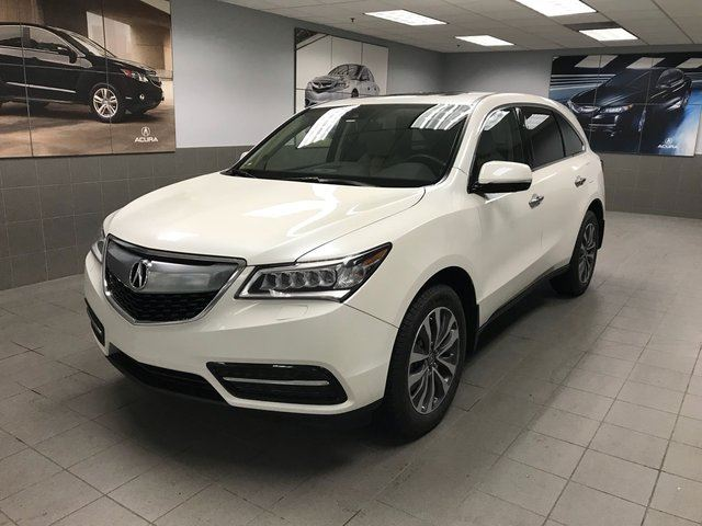 2016 ACURA MDX Navigation Package SH-AWD in Calgary, Alberta