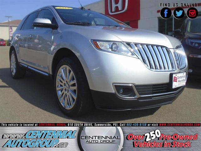 2013 Lincoln MKX AWD  3.7L  V6  in Summerside, Prince Edward Island