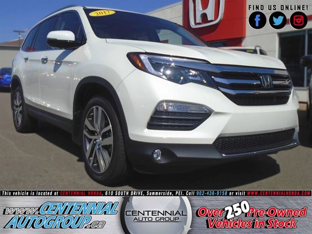 2017 Honda Pilot Touring  3.5L  V6  Navigation  Bluetooth in Summerside, Prince Edward Island