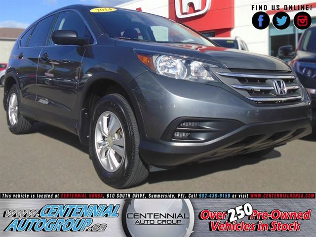 2014 Honda CR-V LX  AWD  2.4L  i4Cyl  Bluetooth in Summerside, Prince Edward Island