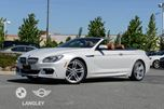 2015 BMW 6 Series xDrive Cabriolet in Langley, British Columbia