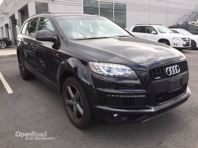 2014 AUDI Q7 quattro 4dr 3.0T Sport Special Edition Package in Vancouver, British Columbia